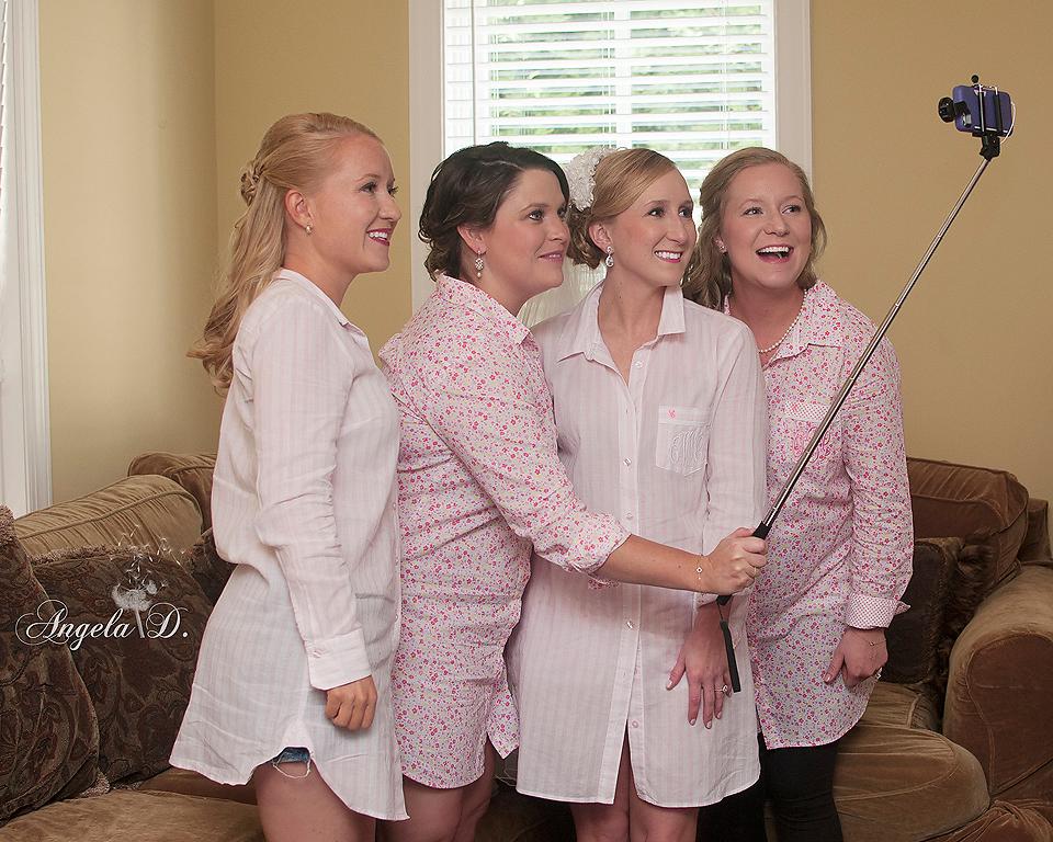 Bridal Selfie.