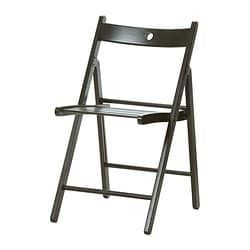 Terje Folding Chair Red With Images Ikea Folding