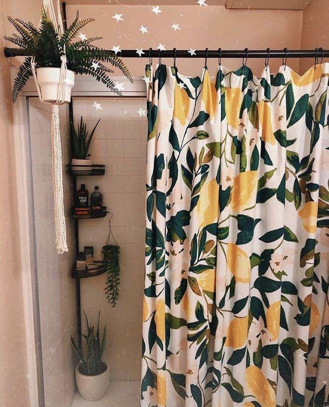 36+The Pitfall of Guest Bathroom Decor Ideas Shower Curtains Shelves - athomebyte #bathroomdecoration