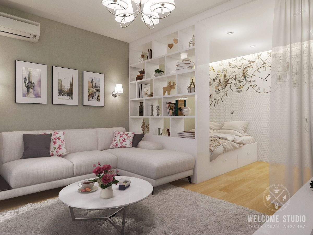 10 Ideas for Room Dividers in a Studio Apartment 4 | Great Ideas |  Pinterest | Studio apartment, Divider and Apartments
