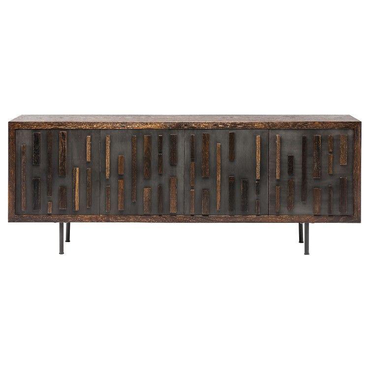 Blok furniture decor mirrored sideboard