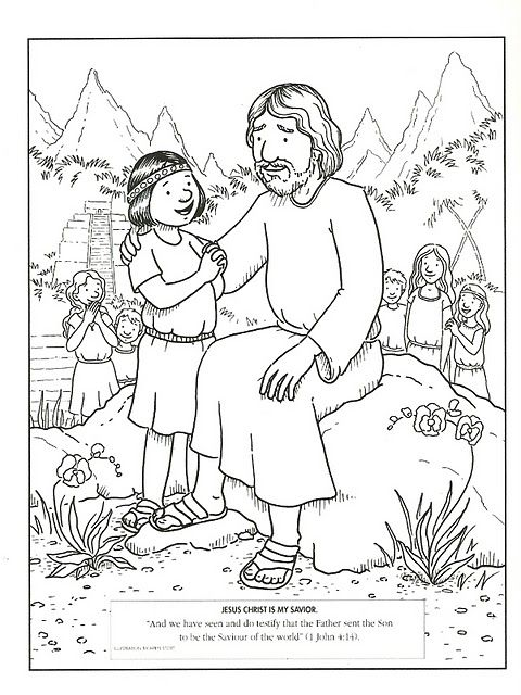 Great sight for coloring pages, lesson ideas. | LDS (Mormon) Lessons ...
