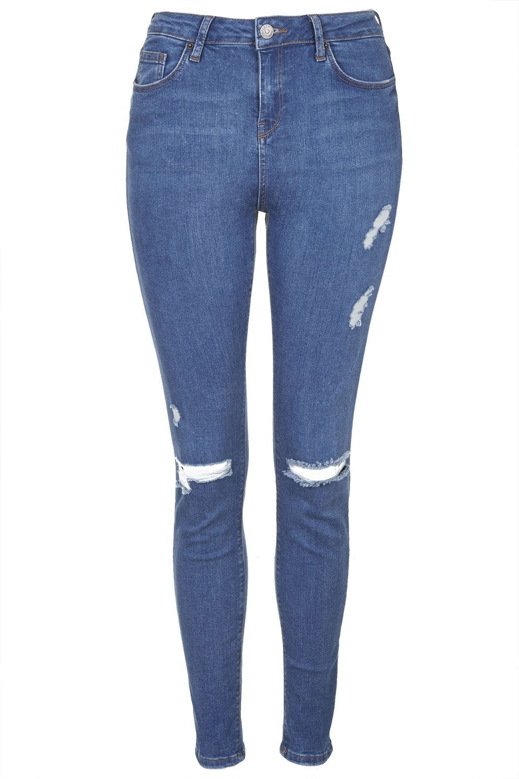 Moto Rip Topshop Fashion Jamie Tall Blue Jeans Jeans qCOwxZSO