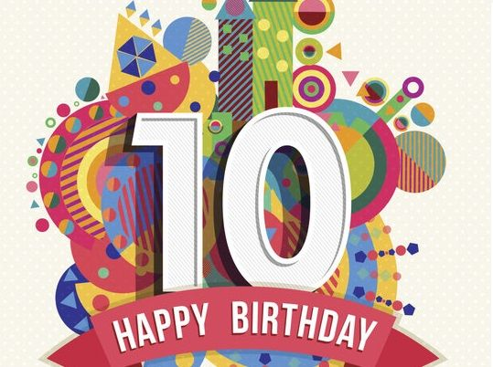 Happy 10th Birthday Images Wishes Quotes Songs Clip Art Poems Greeting Cards