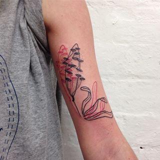 These Badass Banksia Cones Tattoos Botanical Tattoo Pink Tattoo