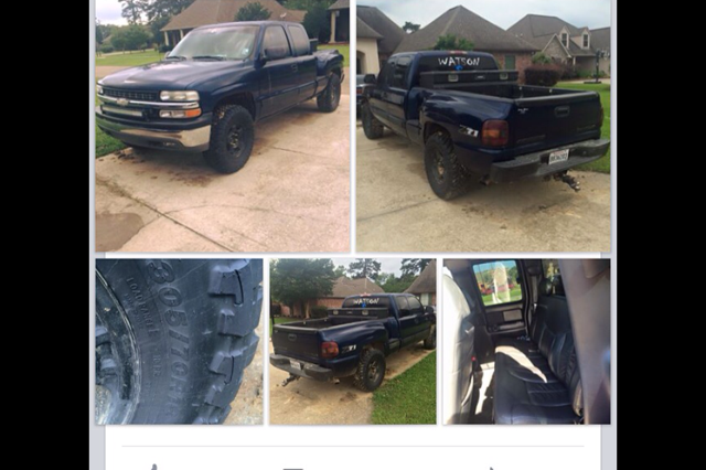 2000 Chevy Z71 Pickup Truck For Sale In Baton Rouge Louisiana