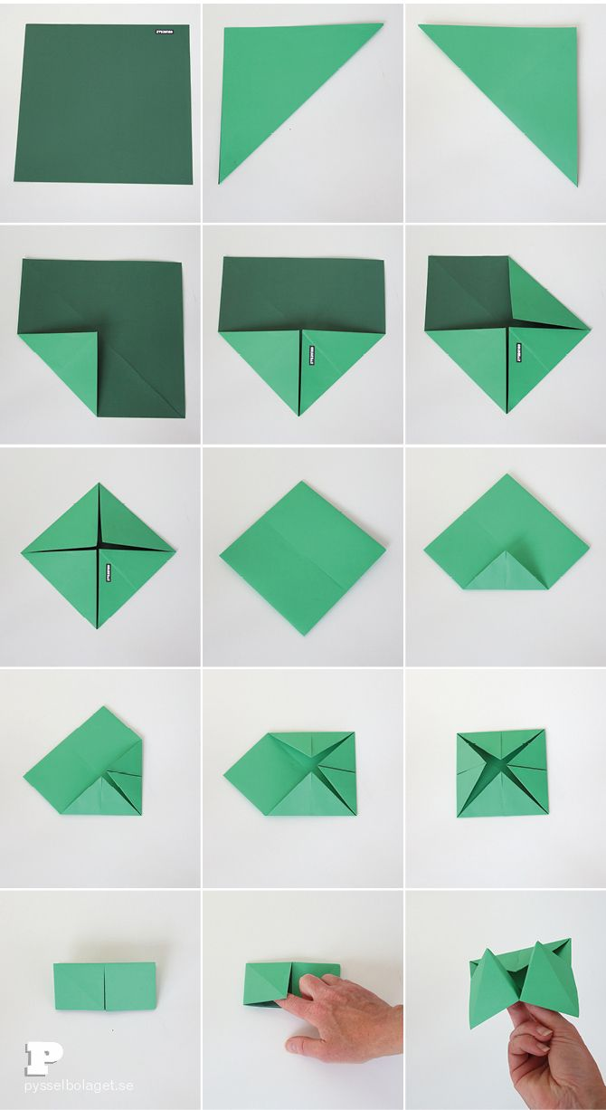 How to make an origami paper fortune teller | Origami / Paper ... | 1226x670