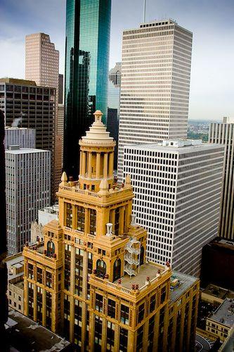The Neils Esperson Building Houston Texas Texas