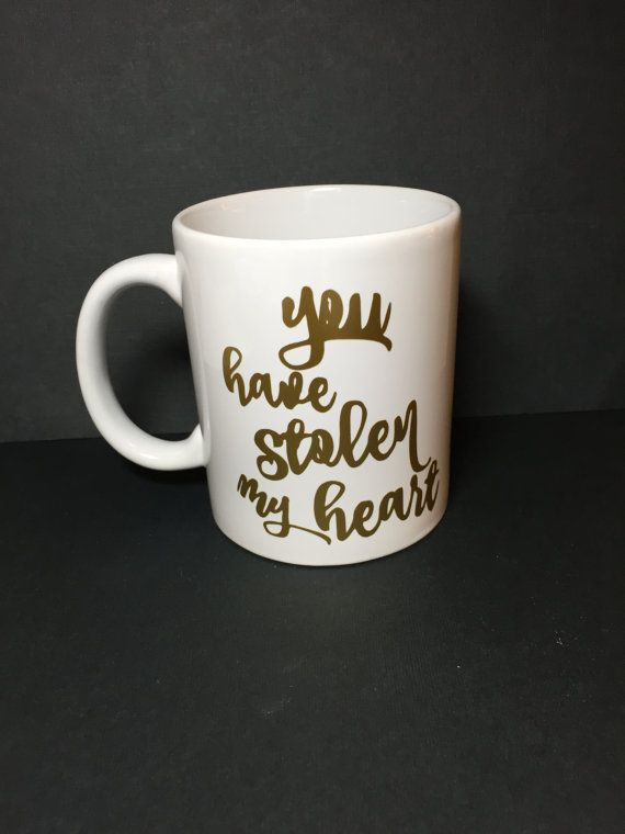 Valentines Day is just around the corner- tell your partner how you really feel! + This mug is a new white mug that holds about 11oz of liquid. +