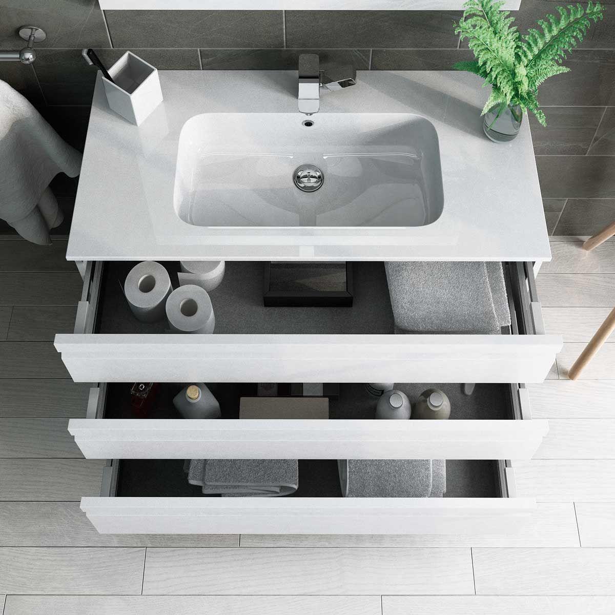 Muebles de baño de diseño moderno, fácil de ver y entender. Muebles ...