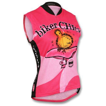 65bd7dd1a World Jerseys Women s Biker Chick Sleeveless Jersey