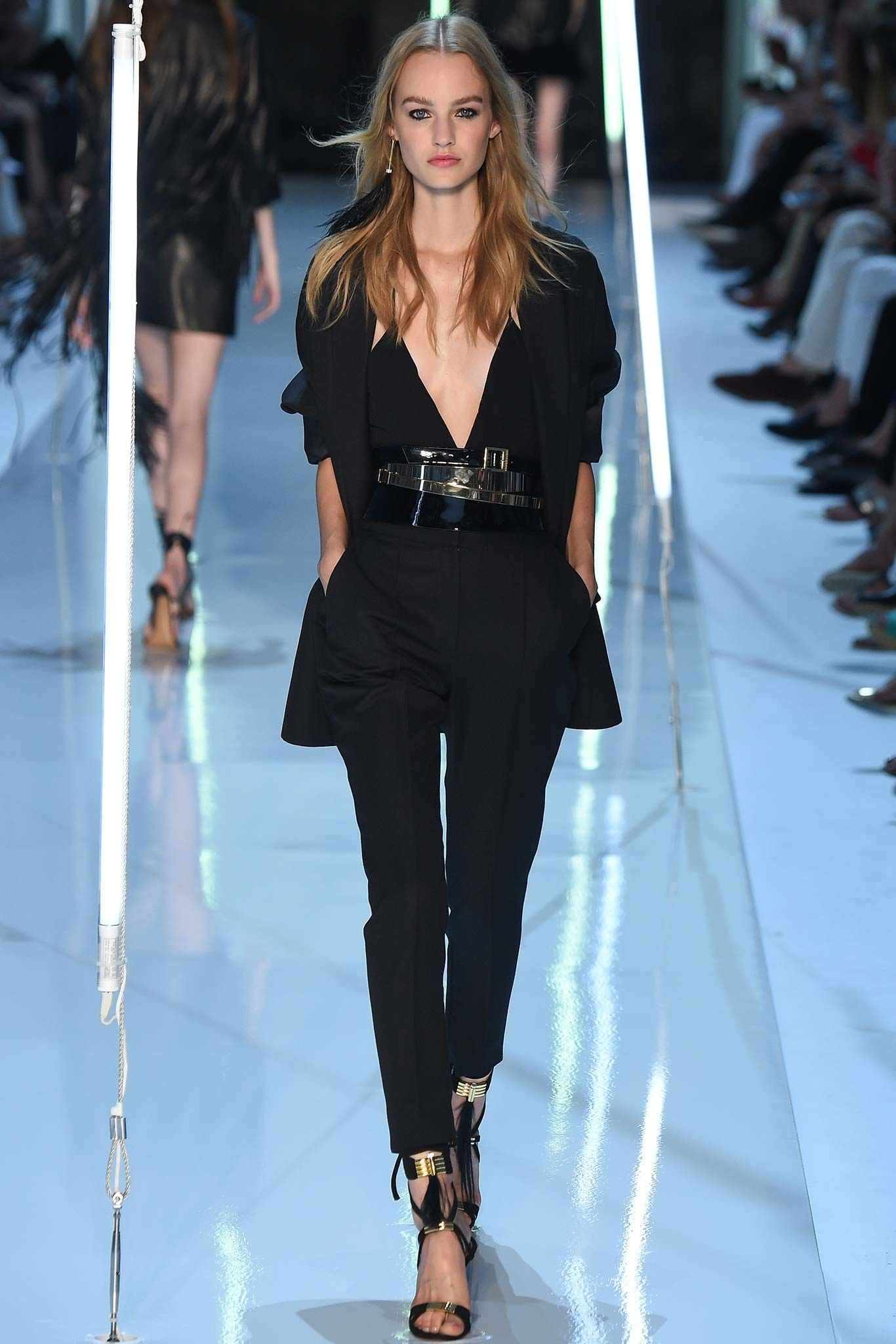 Alexandre Vauthier Fall 2015 Couture Fashion Show - Maartje Verhoef (Women)