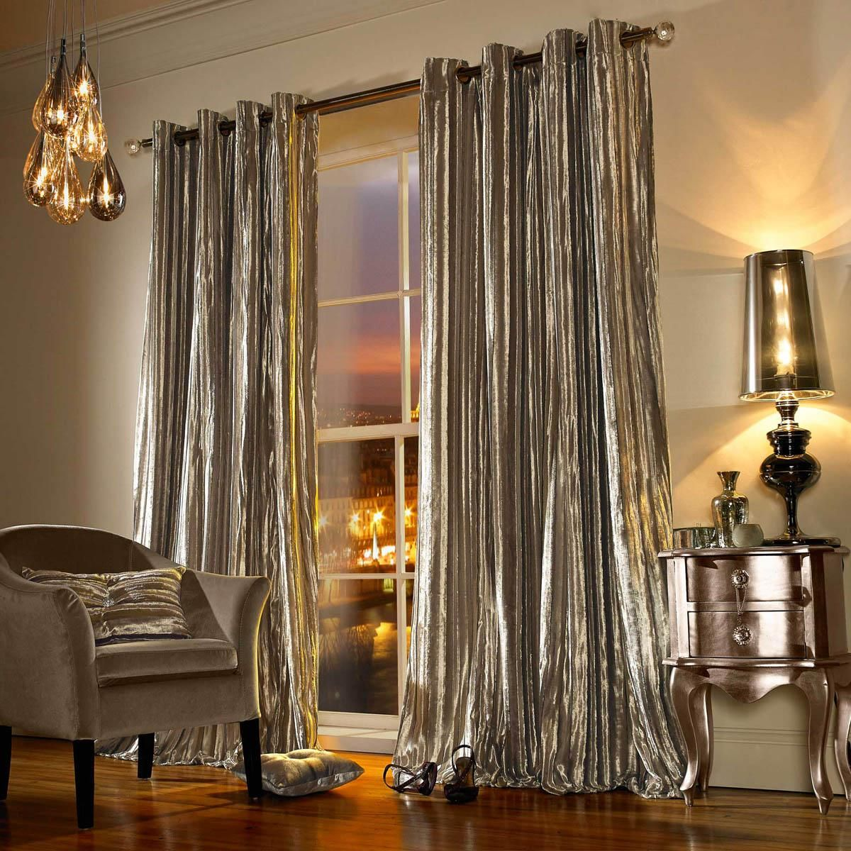 Windsor teal eyelet curtains harry corry limited - Kylie Minogue Iliana Ready Made Eyelet Curtains