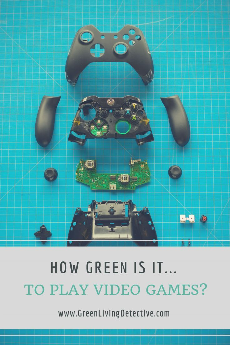 For most of the gaming industry's history, it has used plastics, toxic and heavy metals, cartridges, and a whole host of materials that are nearly impossible to recycle. But now that digital downloads are so popular, video games must have a small environmental impact, right? Follow the link to find the truth! >>>>> #gaming #videogames #gamers #games #tv #electronics #sustainableliving