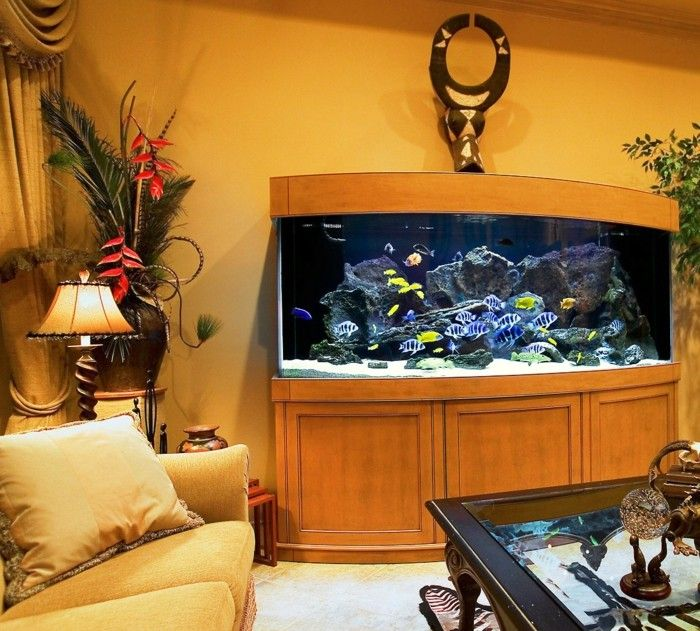 fisch aquarium selber einrichten und dekorieren dekoration decoration ideas deko ideen. Black Bedroom Furniture Sets. Home Design Ideas