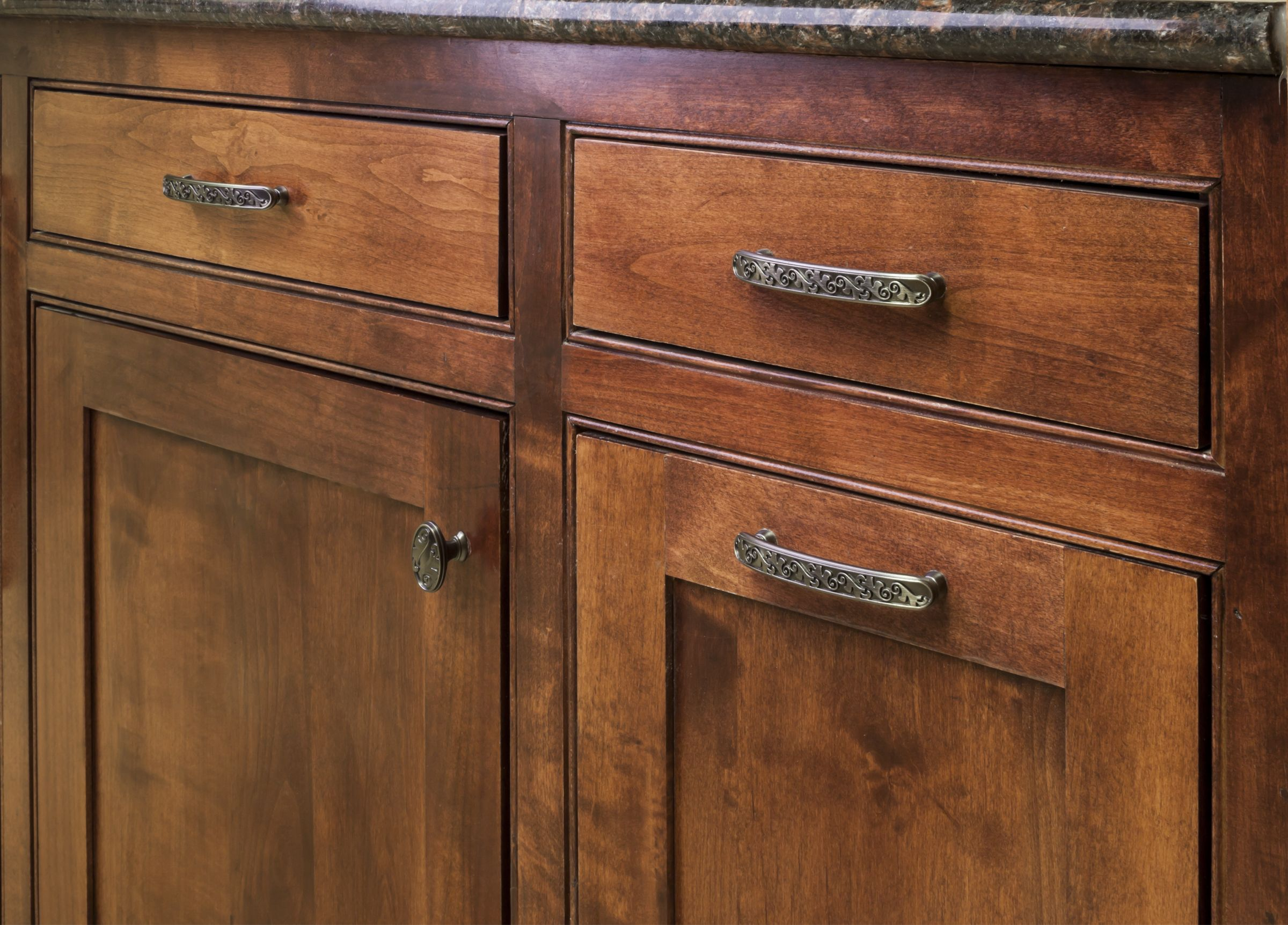 Regency cabinet knobs and pulls from Jeffrey Alexander by Hardware ...