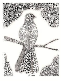 Christmas Zentangle Patterns: #Zentangle,#Christmas,#Zentangle Patterns