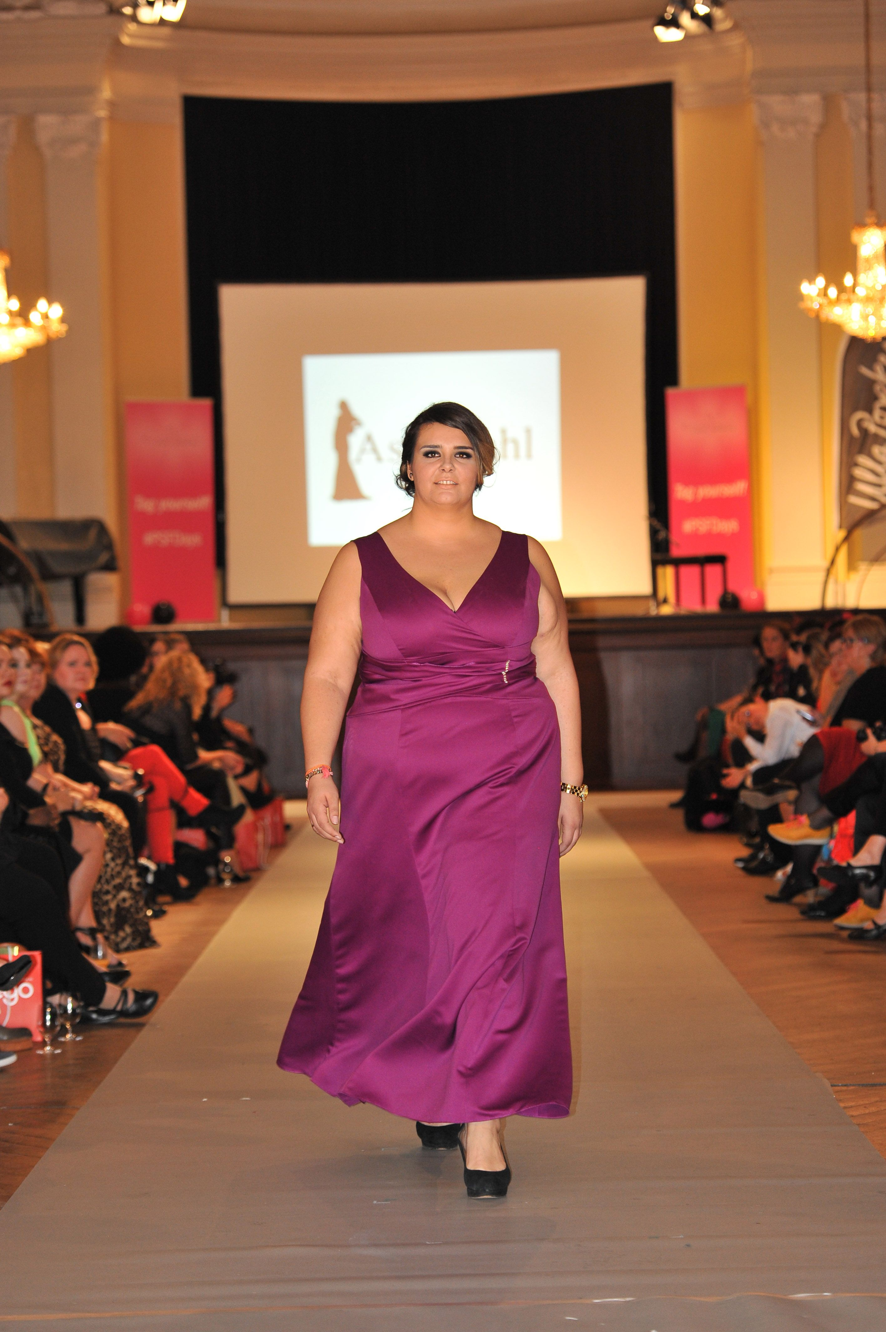 plus size fashion days hamburg model: samela label