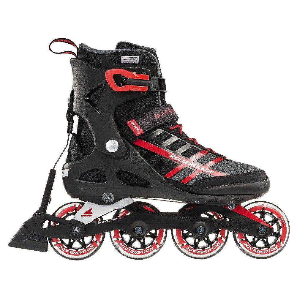 400470 00001 Roces Men/'s Vidi Fitness Inline Skates Blades Charcoal//Strong Blue