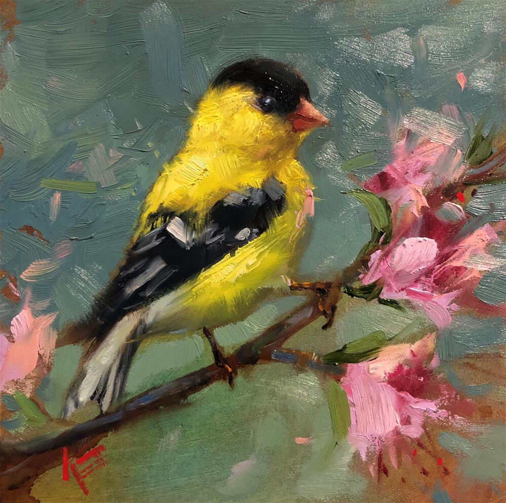 Original Fine Art By C Krista Eaton In The Dailypaintworks Com Fine Art Gallery En 2020 Arte De Aves Pinturas De Aves Pinturas