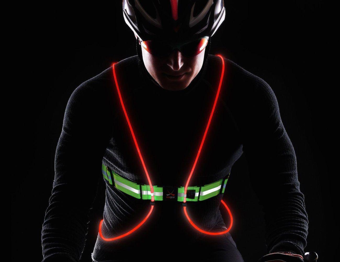 Tracer360 – led γιλέκο για ποδηλάτες!