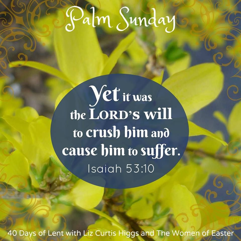 Lent - Women of Easter - Palm Sunday - LCH