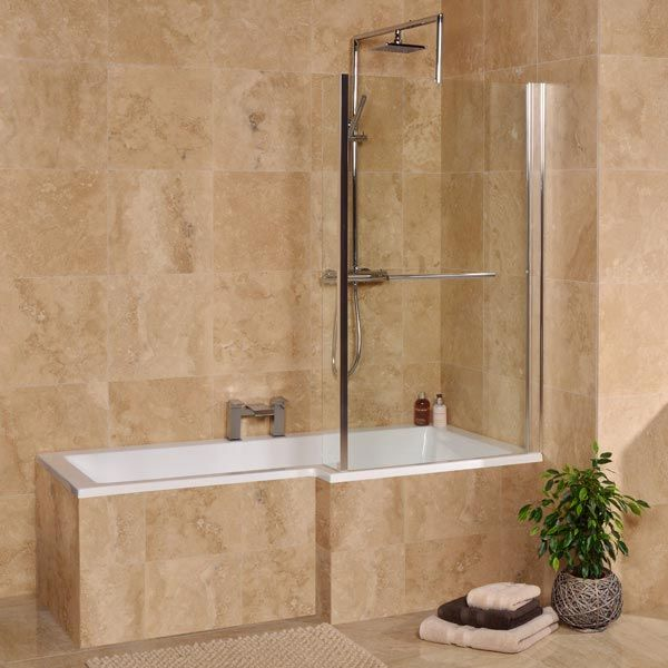 1675mm Right Hand Square Shower Bath (excludes panel)   Plans for ...