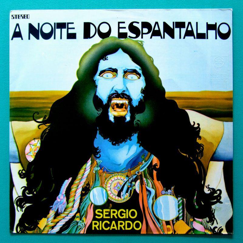 LP SERGIO RICARDO OST A NOITE DO ESPANTALHO 1974 PIRI PIRY ALCEU VALENCA OS LOBOS GERALDO AZEVEDO REGIONAL FOLK PSYCH BRAZIL