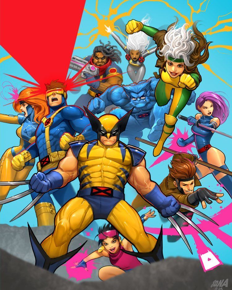 David Nakayama On Instagram Once More From The X Men Archives This Is My Cover From X Men 92 No 10 The Final Is In 2020 Marvel Comics Art Marvel Superheroes X Men