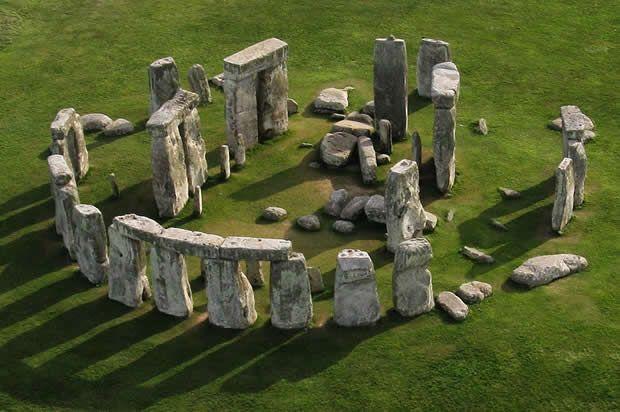 Stonehenge, Inglaterra que teve um milenar processo de construção