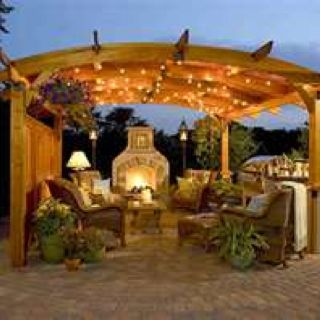 Backyard Party Outdoor Rooms Outdoor Living Dream Backyard