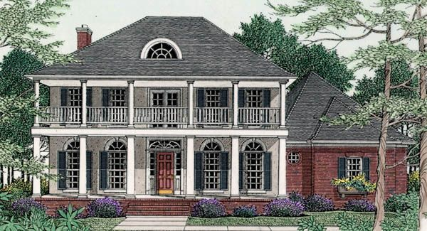 House plans for plantation style homes - House interior