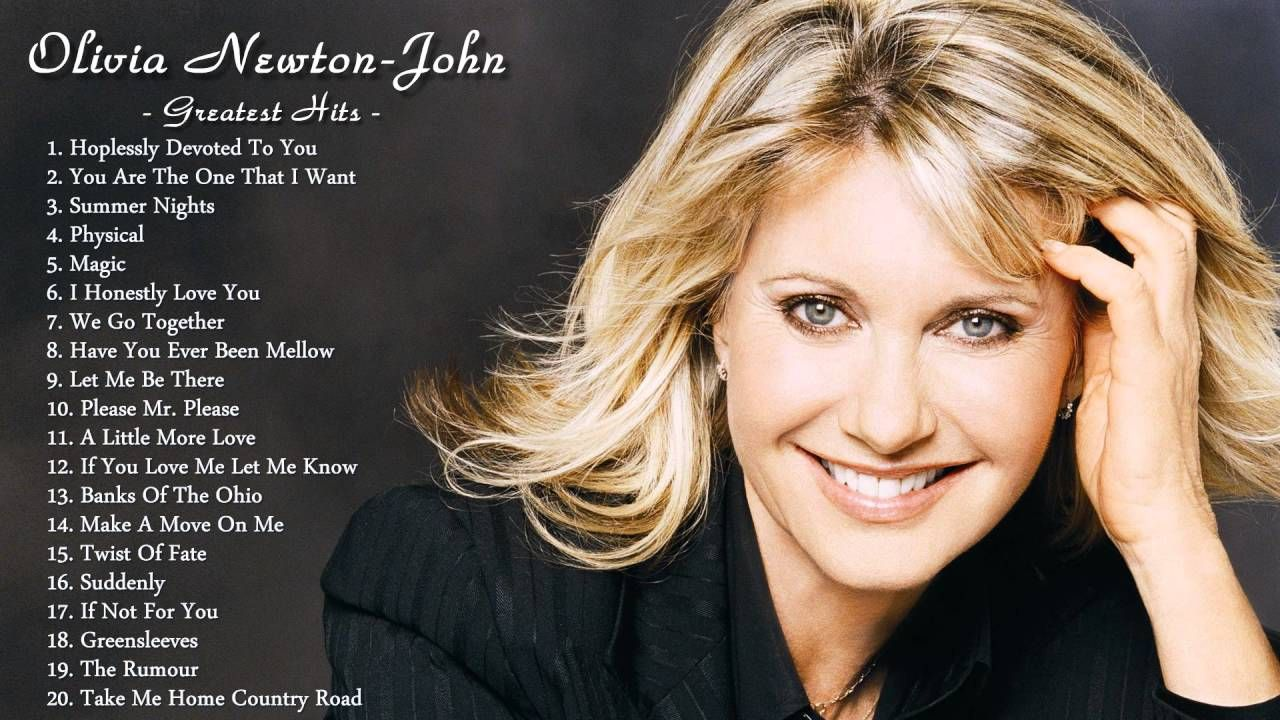 olivia newton johns greatest hits the best of olivia newton john olivia newton - Olivia Newton John This Christmas