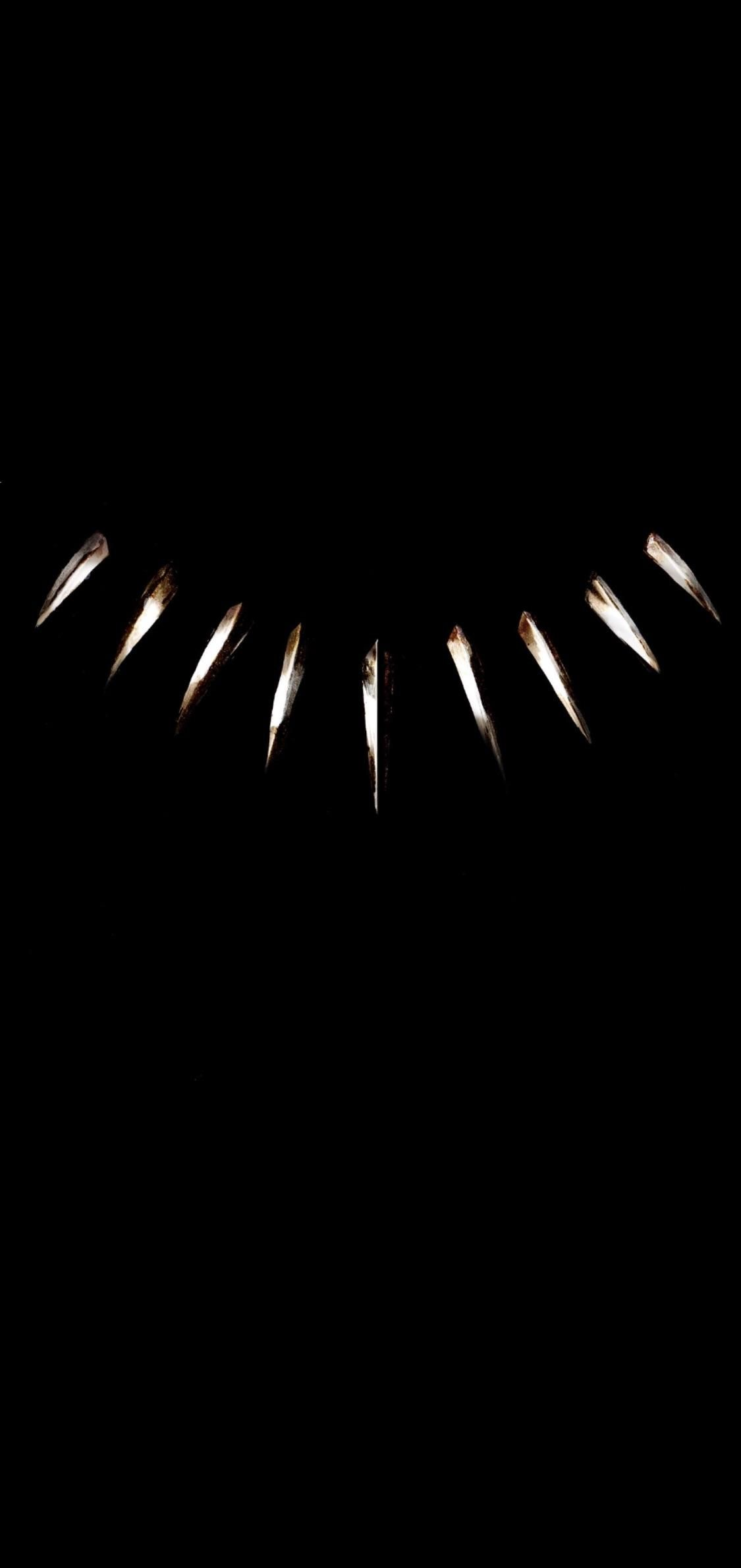 Very Very Simple Black Panther Phone Wallpaper I Made Hope You All Enjoy It As Much As I Do Black Panther Art Black Wallpaper Black Panther