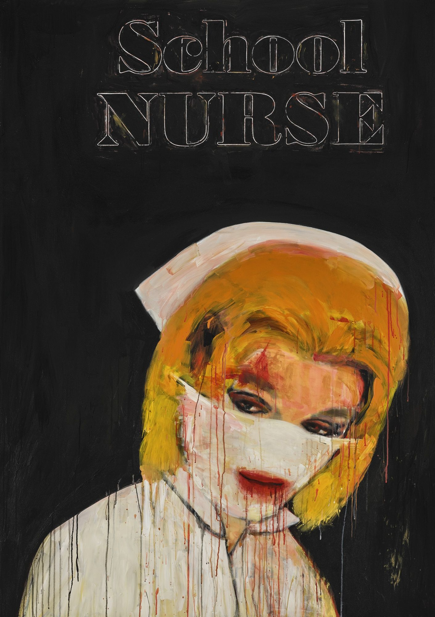 Image result for richard prince nurse painting