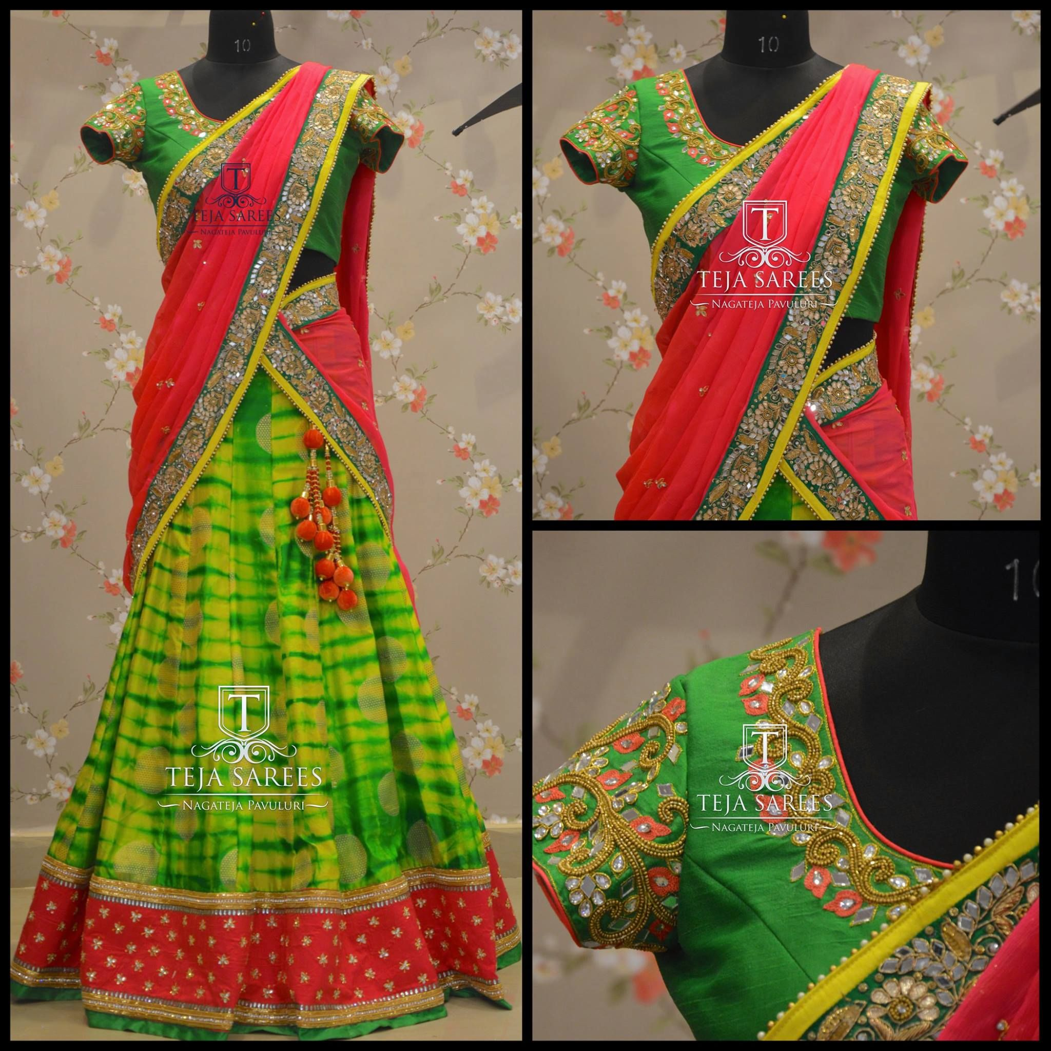 TS 3LH4 - 178 - DECFor queries/ price detailsWhats App us on8341382382 Reach us on8790382382 orplease mail us attejasarees@yahoo.com tejasarees  LikeNeverBefore  hyderabad  designerwear  bridal  halfsarees  traditional  tejupavuluri  04 December 2016