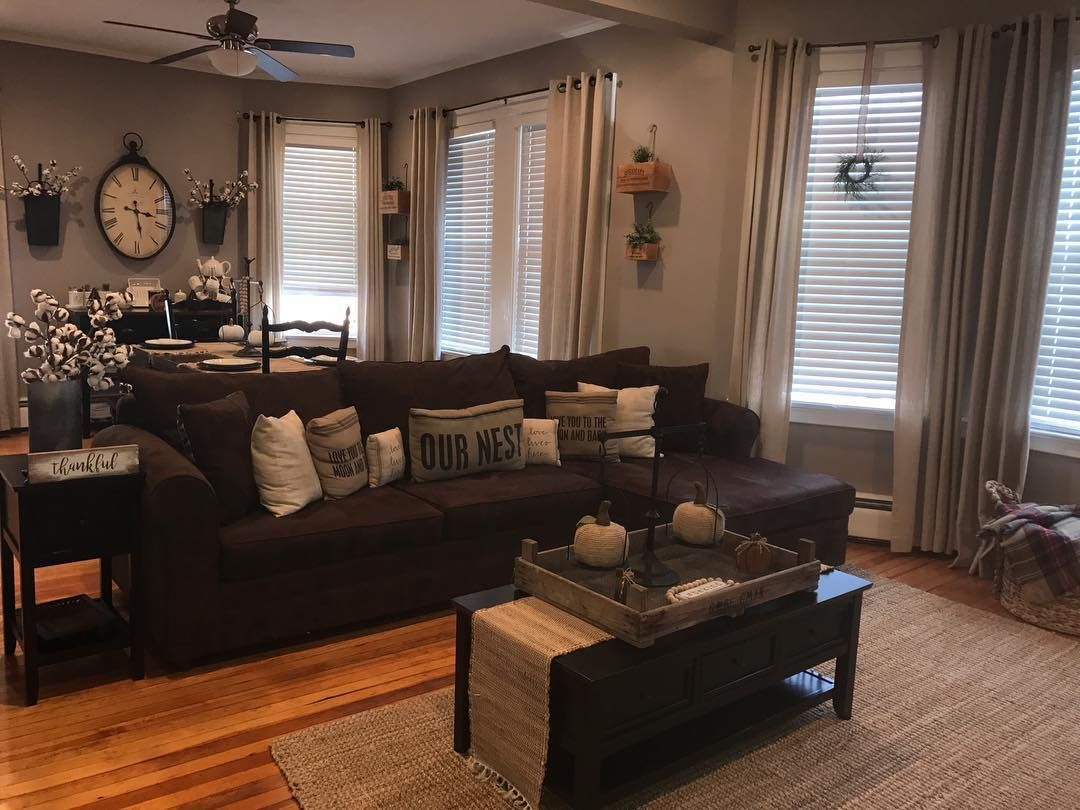 Haydee On Instagram Loving This Fall Weather Farmhouse Farmhousestyle Farmh Living Room Remodel Living Room Floor Plans Living Room Design Inspiration #signature #design #by #ashley #fallston #living #room #sectional