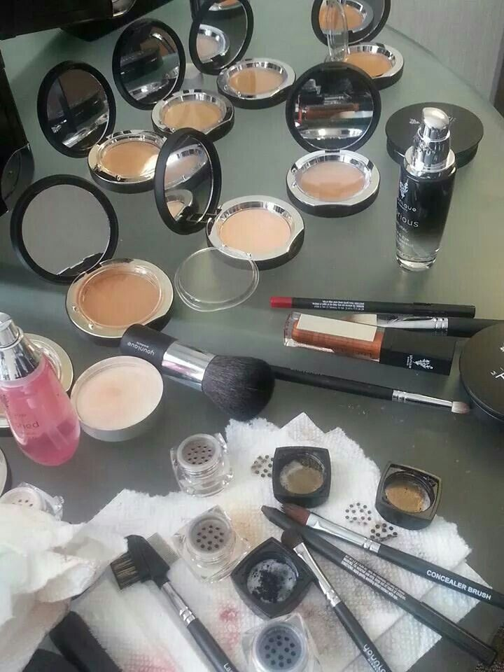 A few of younique's amazing products. They are naturally