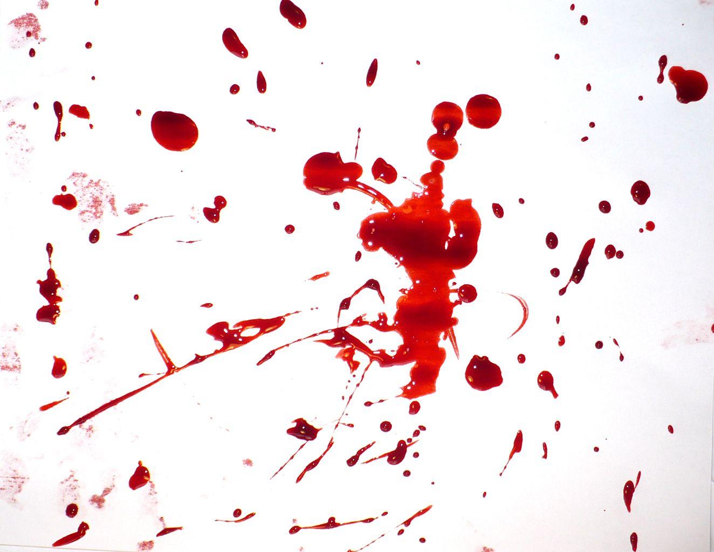 dexter blood splatter poster - photo #25
