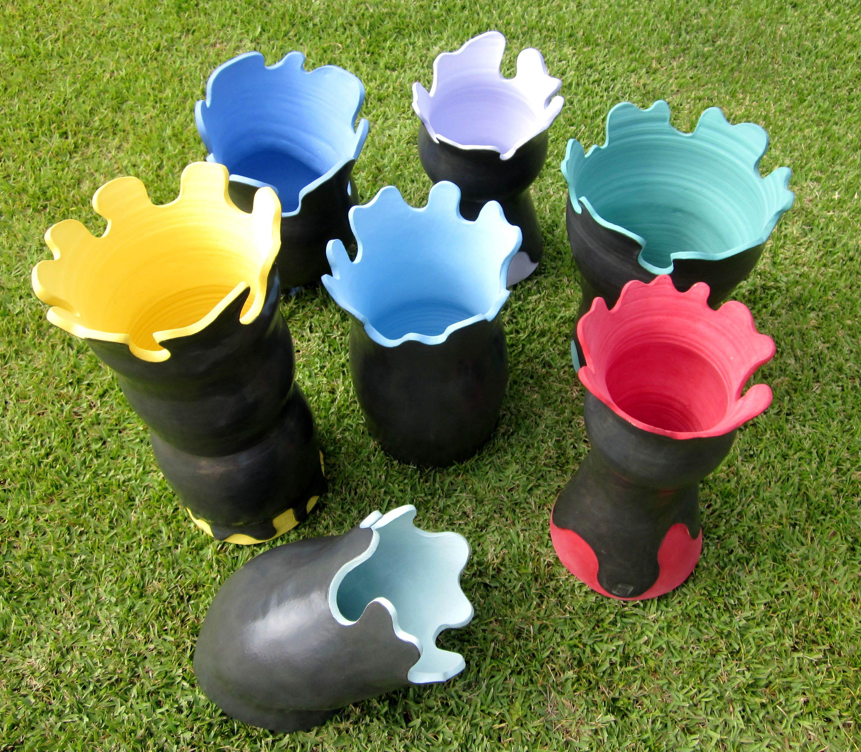cores e formas ceramicas - Águeda Zabisky