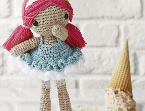 Amigurumi Patterns Doll Free : Free crochet doll amigurumi pattern archives ⋆ crochet