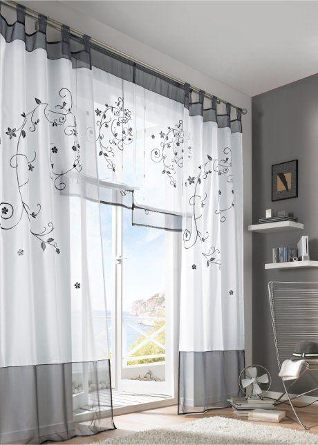 gardine sandy 1er pack bpc living sand gardinen pinterest gardinen egal und wohnzimmer. Black Bedroom Furniture Sets. Home Design Ideas