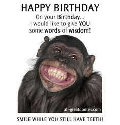 HAPPY BIRTHDAY On your Birthday... I would like to give ...