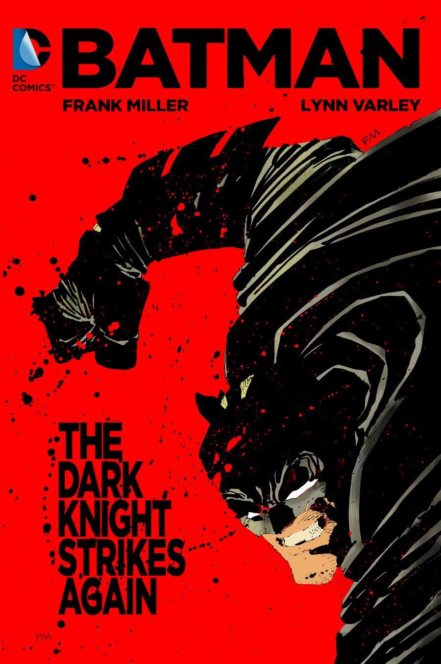 The Dark Knight Strikes Again : knight, strikes, again, Knight, Strikes, Again, (2001-2002),, Frank, Mllier,, Miller, Batman,
