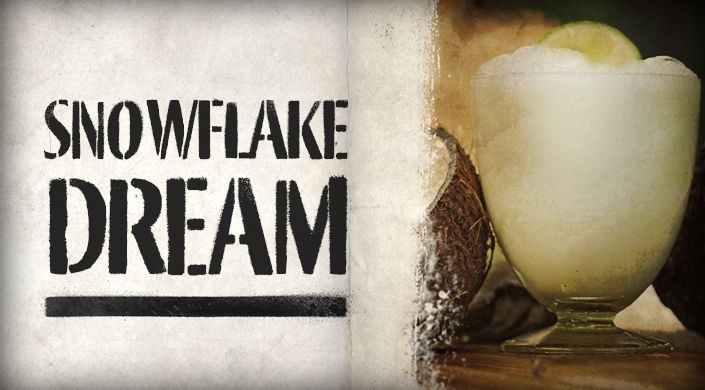 Snowflake Dream... schweppes lemonade & coconut rum www.cocktailrevolution.com.au #schweppes #lemonade #rum #summer
