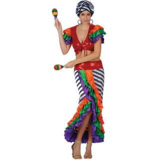 Carmen Miranda Costume Adult Carnivale Fancy Dress