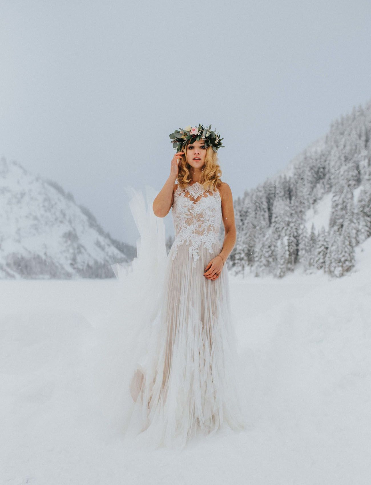 Winter White Wedding in the Mountains with a Twist... Alpacas ...