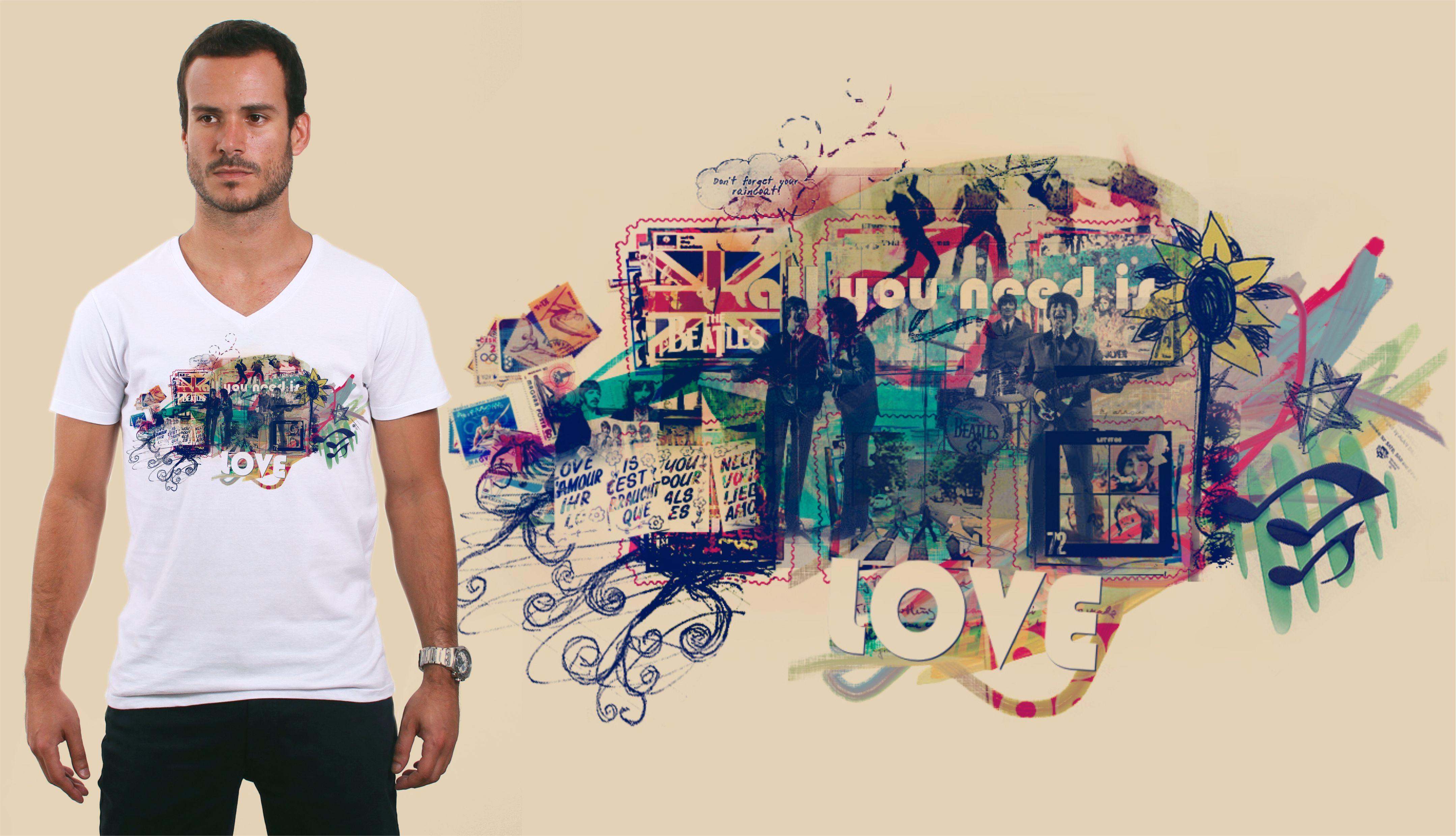 Camisa Beatles