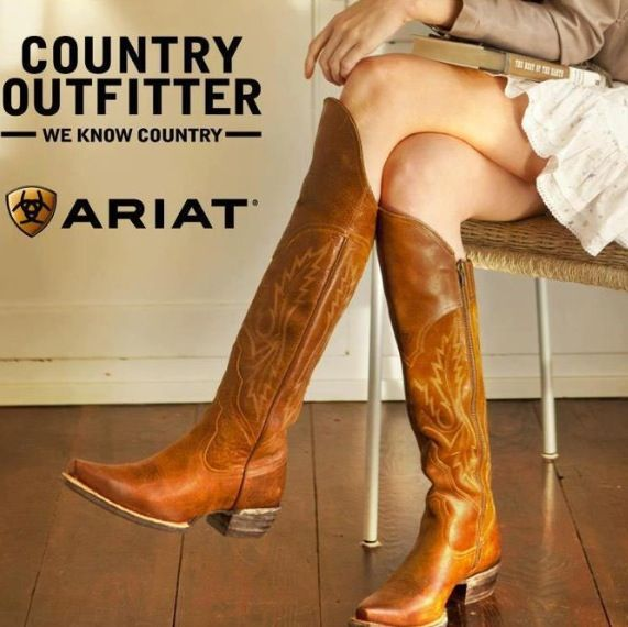 b3b4f37a2b4 Ariat over the knee boots  want