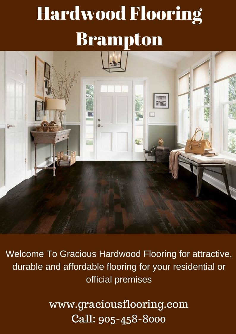 Get attractive, durable and affordable hardwood flooring